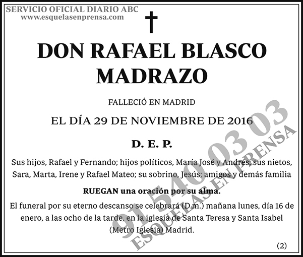 Rafael Blasco Madrazo